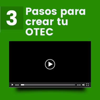 Pasos para crear tu OTEC